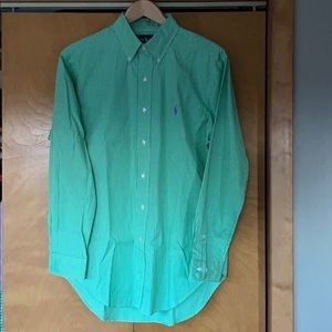 Ralph Lauren Classic Fit Striped Button-Up